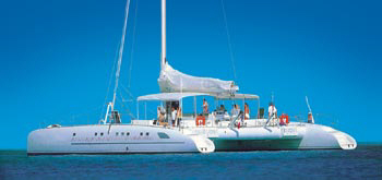 Catamaran Mediterraneo yacht for Charter in Ayia Napa and Protaras Cyprus