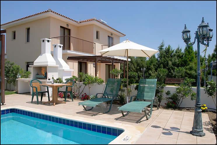 Oroklini Villas 3 Bed Villa With Pool In Oroklini Larnaca