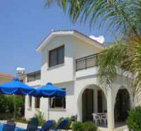Ellas villa to rent in Kissonerga Paphos, Cyprus on a weekly basis - the house