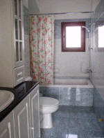 A large spacious villa in Paphos, Cyprus, for holiday rentals or long term winter lets - Click pictures to enlarge - Bathroom