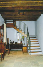 Garden Kamara House in Kato Drys - An agrotourism holiday house in Cyprus - The stairs to the bedroom and terrace