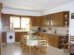 The kitchen of Georgia Villa near Pafos in Cyprus for your holiday rental.