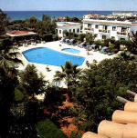 Holiday beach apartments in Larnaca