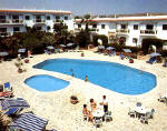 Holiday beach apartments with swimming pool in Larnaca, Cyprus