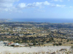 View of Paphos Bay
