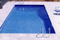 Villa Pomos on the west coast of Cyprus for holiday rentals in the sun - The swimming pool