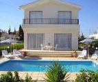 Villa Yadni is a three bedroom villa with it's own private pool in the Coral Bay area of Paphos. - click to enlarge.