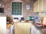 A fully equipped kitchen at Lania Villa in Cyprus